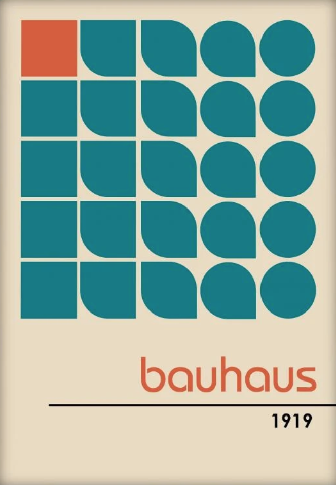 Beauty and Bauhaus In A Circle – Artistic Trends Recycled Centennially